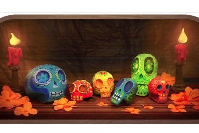 Google celebrates Day of the Dead with new Doodle