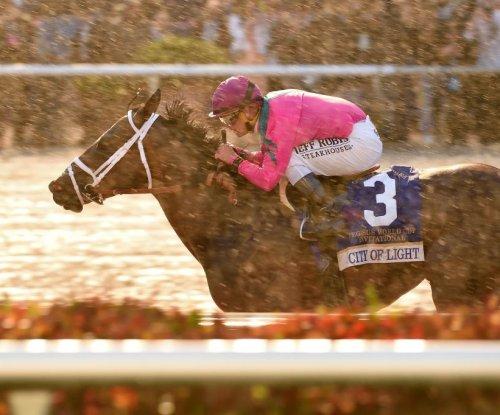 UPI Horse Racing Weekend Roundup: City of Light wins Pegasus
