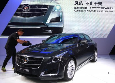 GM spins off Cadillac, moves headquarters to New York City