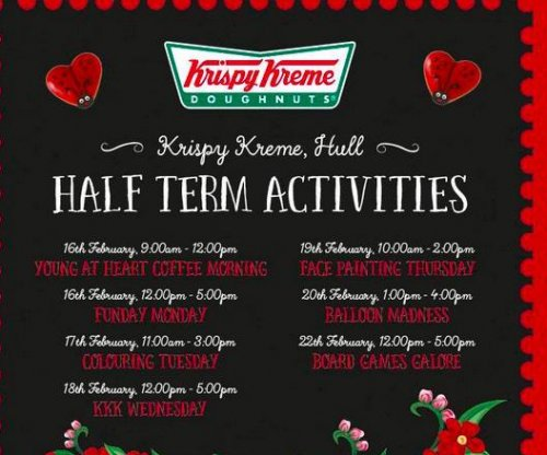Krispy Kreme store in UK pulls 'KKK Wednesday' promotion