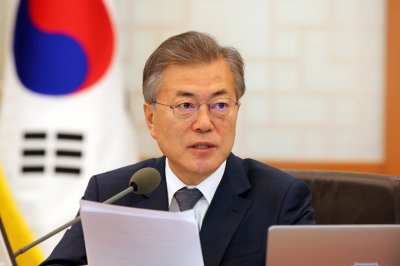 South Korea's Moon Jae-in will not attend Russian forum, Seoul says
