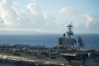 USS Roosevelt leaves home port ahead of scheduled deployment