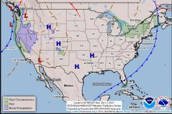 Shifting pattern to dump mountain snow, raise flood threat across the West this week
