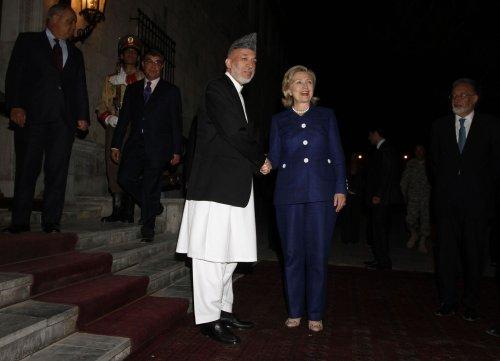 Rocket fire diverts delegates in Kabul