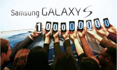 Samsung Galaxy S phones reach 100 million