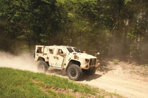 Oshkosh completes JLTV Production Readiness Review