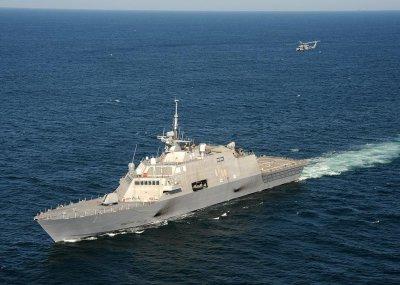 3-D radar installed on Freedom variant LCS