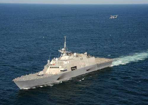 3-D radar installed on Freedom variant LCS