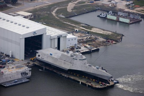 Navy christening new Littoral Combat Ship