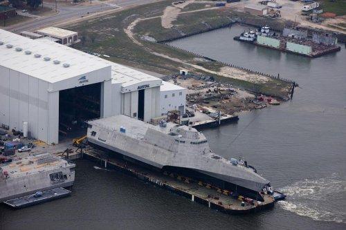 Navy christening new Littoral Combat Ship
