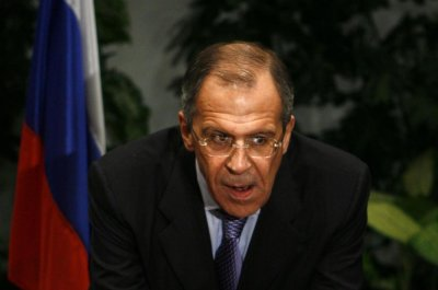 Russian FM Lavrov mutters salty language during press conference with Saudi counterpart