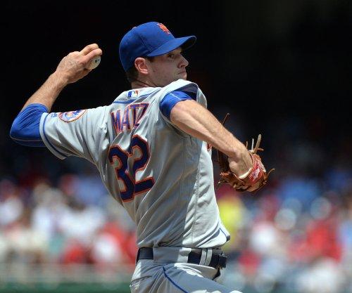 Steven Matz pitches eight scoreless innings, New York Mets blank Washington Nationals
