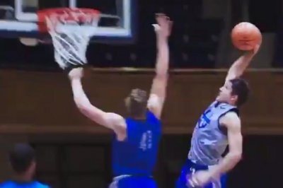 Duke Blue Devils: Grayson Allen throws down nasty dunk