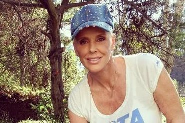 Brigitte Nielsen 'very happy' after having daughter at 54