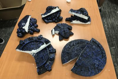 Meth disguised as Aztec calendars seized in California