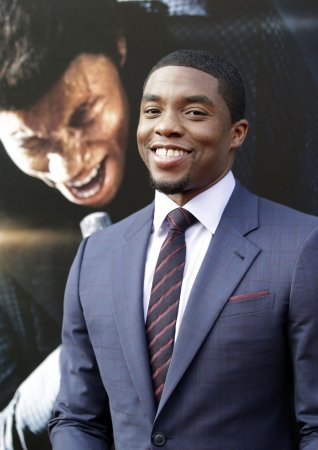 Chadwick Boseman channels James Brown in 'Get On Up'