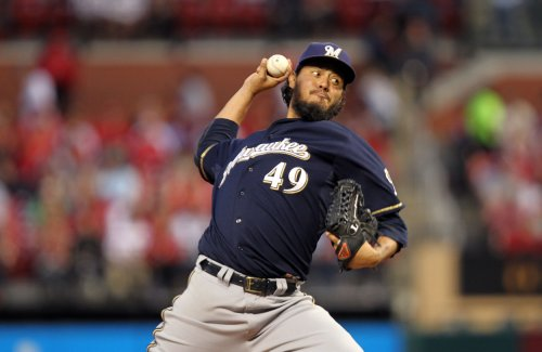 Brewers salvage series finale against the Rays