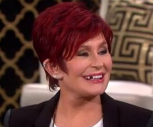 Sharon Osbourne's tooth falls out on 'The Talk'