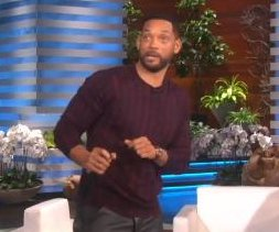 Will Smith raps 'Fresh Prince' theme for Ellen DeGeneres