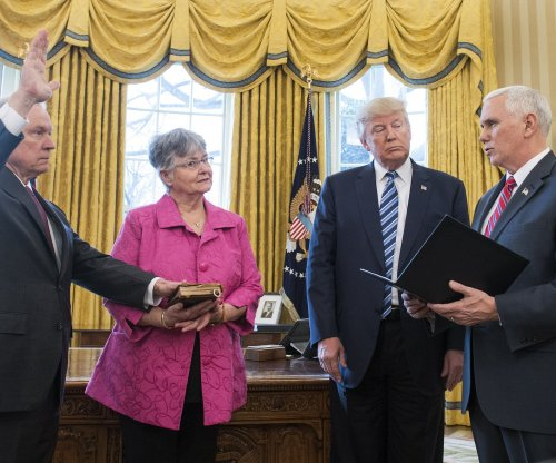 Jeff Sessions sworn in as attorney general
