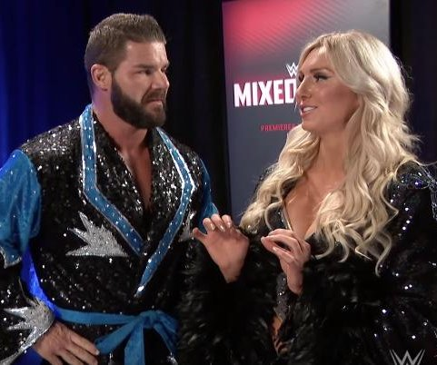 Charlotte Flair, Bobby Roode join forces for WWE's Mixed Match Challenge