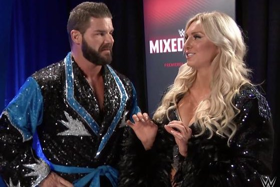 Charlotte Flair Bobby Roode Join Forces For Wwe S Mixed