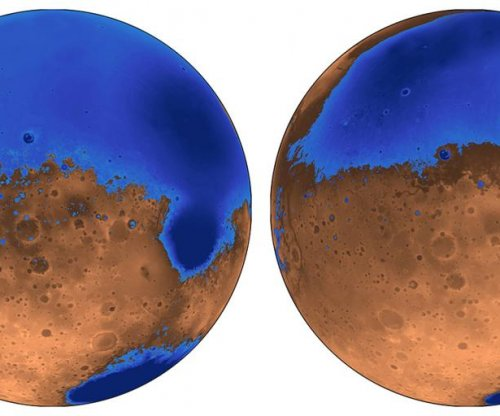 Martian oceans older, less deep than previously thought, study finds