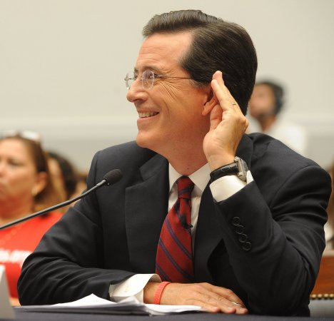 Sources say Stephen Colbert is CBS's top choice to replace David Letterman