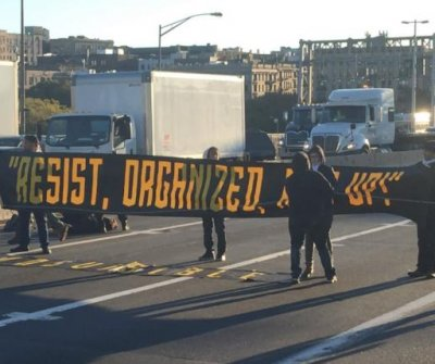 Immigration protest shuts down part of George Washington Bridge