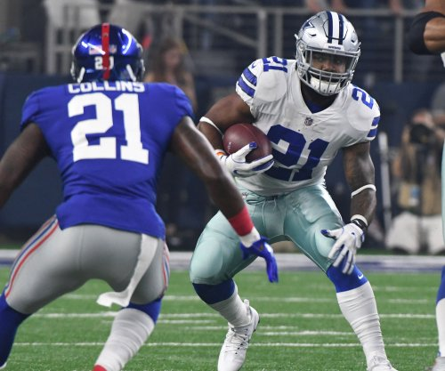 Ezekiel Elliott, Dallas Cowboys handle New York Giants for opening win