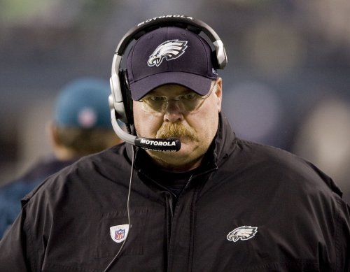 Andy Reid back at Eagles' practice