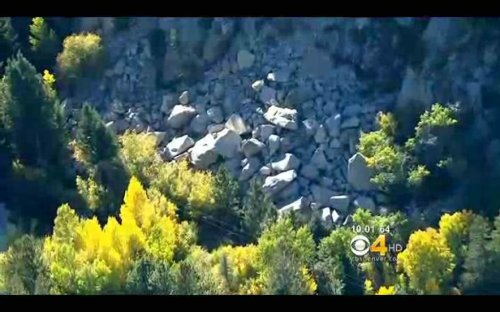 Daughter says dad shielded her from falling rocks on Colo. mountain
