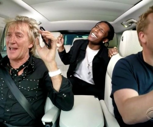 Rod Stewart joins James Croden for carpool karaoke, A$AP Rocky makes surprise apperance