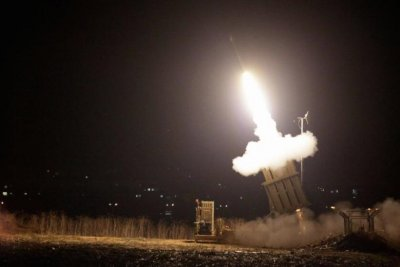 Israeli military strikes back in Gaza after rocket fire