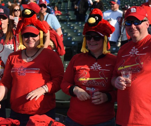 Fan grazed by stray bullet at Busch Stadium during St. Louis Cardinals, Milwaukee Brewers game