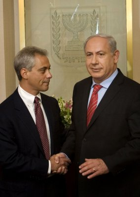 Activist calls Emanuel 'hater of Israel'