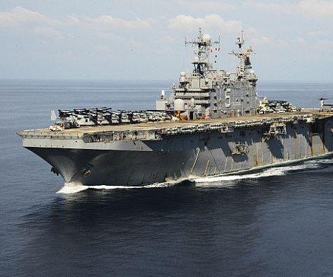 Navy decommissioning USS Peleliu