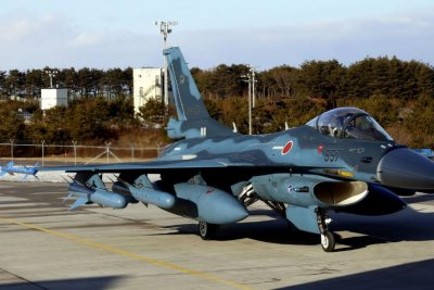 Japanese fighter plane crashes in Sea of Japan, two pilots rescued