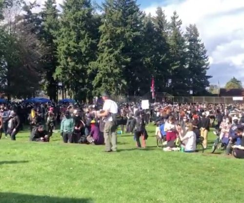 Proud Boys briefly rally in Portland; counter-protesters gather elsewhere