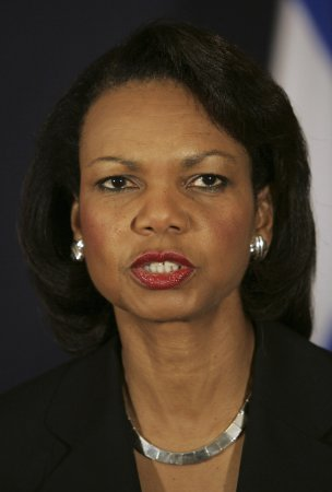 Rice voices U.S. support of Lebanon pact