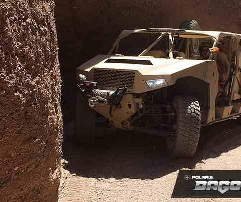 Polaris Defense showcases ultra-light off-road military vehicle