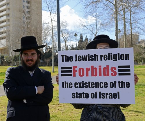 Outside the U.S. Capitol, a clash of opinions on Netanyahu speech