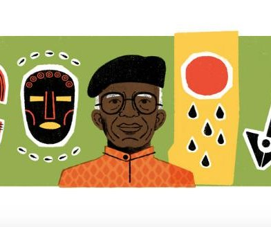 Google honors author Chinua Achebe with a new Doodle