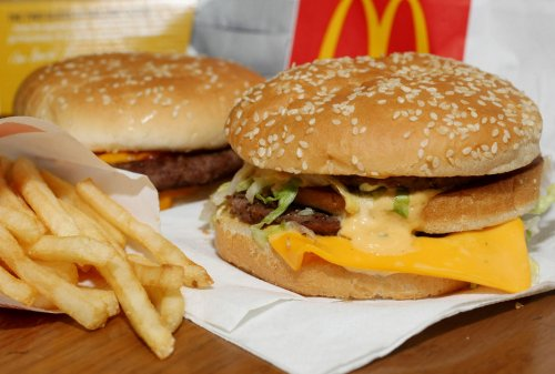 Chuck Schumer says chemical found in yoga mats doesn't belong in McDonald's buns