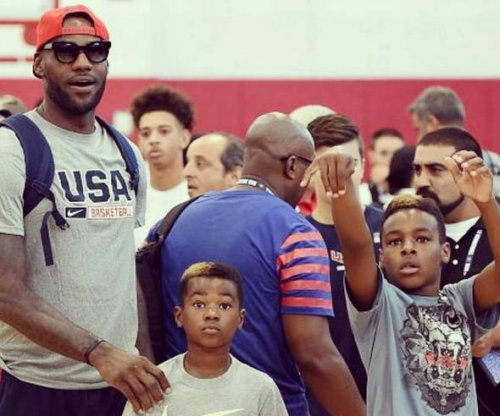 LeBron James' sons start modeling for Diddy's clothing line
