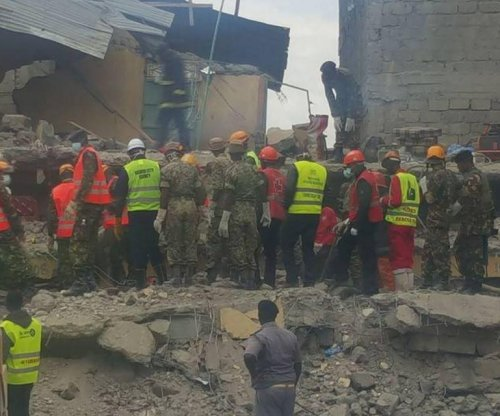 Woman found alive six days after building collapse in Nairobi, Kenya