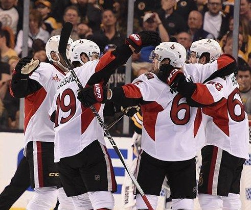 Ottawa Senators blow 3-goal lead, but rally in OT to take series lead