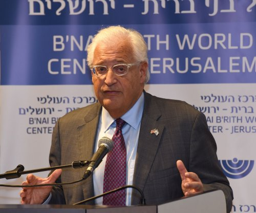 U.S. ambassador accuses Palestinians of preventing peace