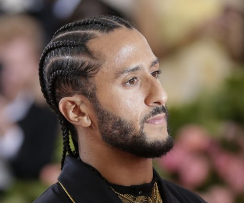 NBA Playoffs: Colin Kaepernick celebrates with Warriors after Western Conference sweep