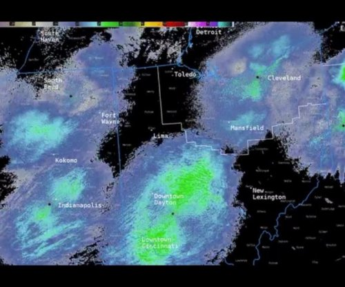 Dragonfly swarms show up on weather radar over three states